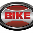 Stock vektor: Bike element logo