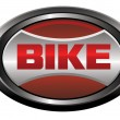 Stok Vektör: Bike element logo