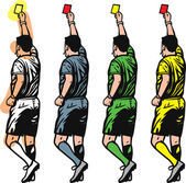 Referee — Stock Vector