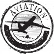 Aviation stamp — Stok Vektör #4174581