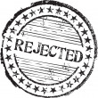 Royalty-Free Stock Vektorfiler: Rejected stamp