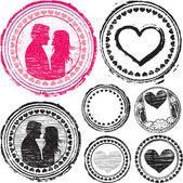Stamp of Love — Stock Vector