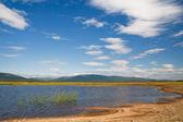 Güzel bir plaj Gölü — Stok fotoğraf