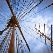 Stock Photo: Mast stretch to sky