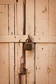 Wooden gates — Stock Photo