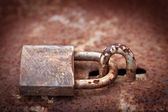 Metal lock — Foto Stock
