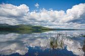 Unusual lake — Stock Photo