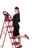 Ladder van succes — Foto de Stock