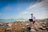 Wireless Internet everywhere natural — Stock Photo