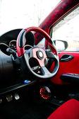 Rode wiel — Stockfoto