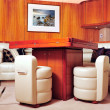 Luxury yacht interior - Stock Photo