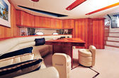 Luxury yacht interior — Stock Photo