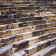 Stock Photo: Detail of ancient Greek theater at Ithomi