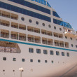Moored Cruise Liner — Stock Photo