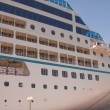 Stock Photo: Moored Cruise Liner
