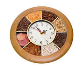 Hours issued by different seasonings — Stock Photo