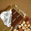 Chocolate background — Stock Photo #4759272