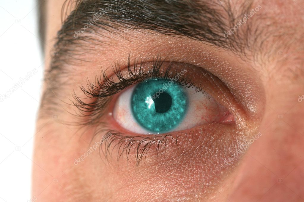 Close-up eye background — Stock Photo #4759928