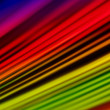 Stock Photo: A4 sized abstract rainbow background.