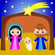 Royalty-Free Stock Vector Image: Nativity