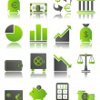 Royalty-Free Stock Vector Image: Green icons_6