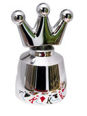 Steel crown for champagne — Stock Photo