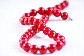 Perles rouges — Photo