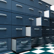 Stock Photo: Filing Cabinets
