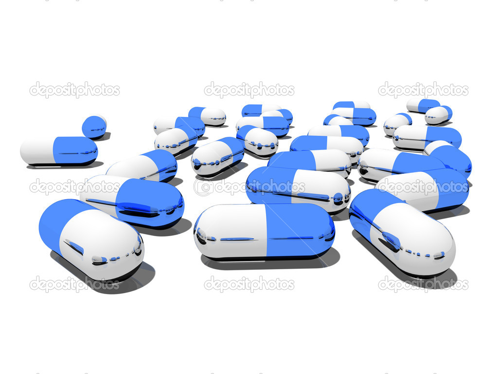 Capsules with drugs — Stock Photo #4361651