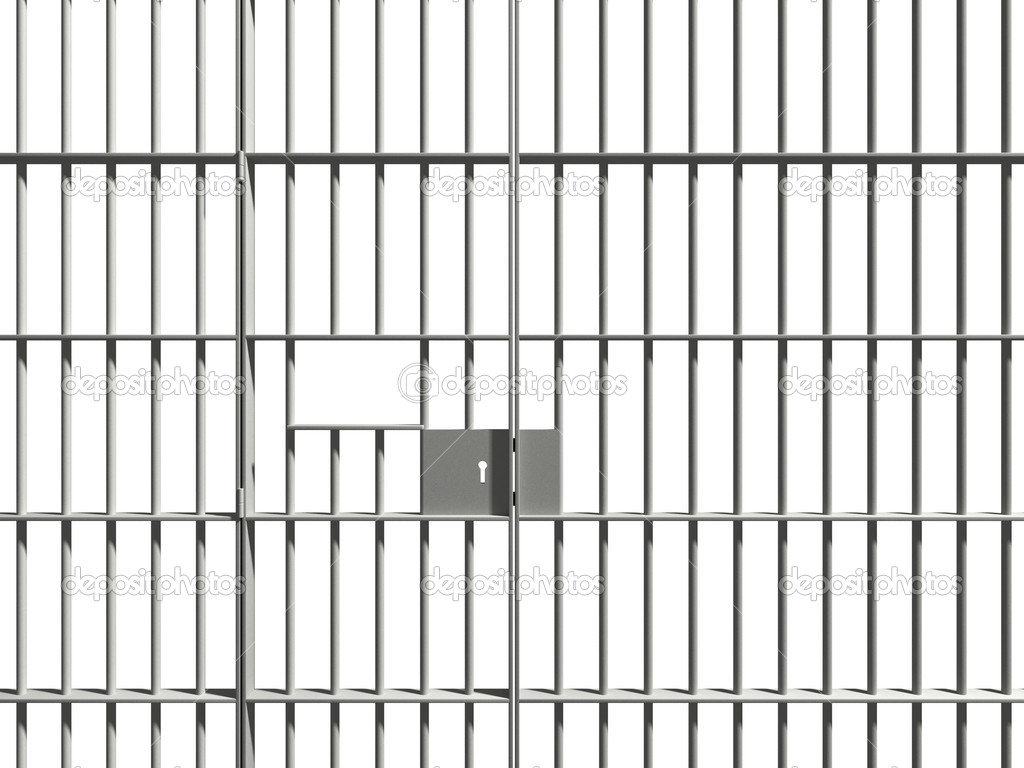 Prison bar — Stock Photo #4362327