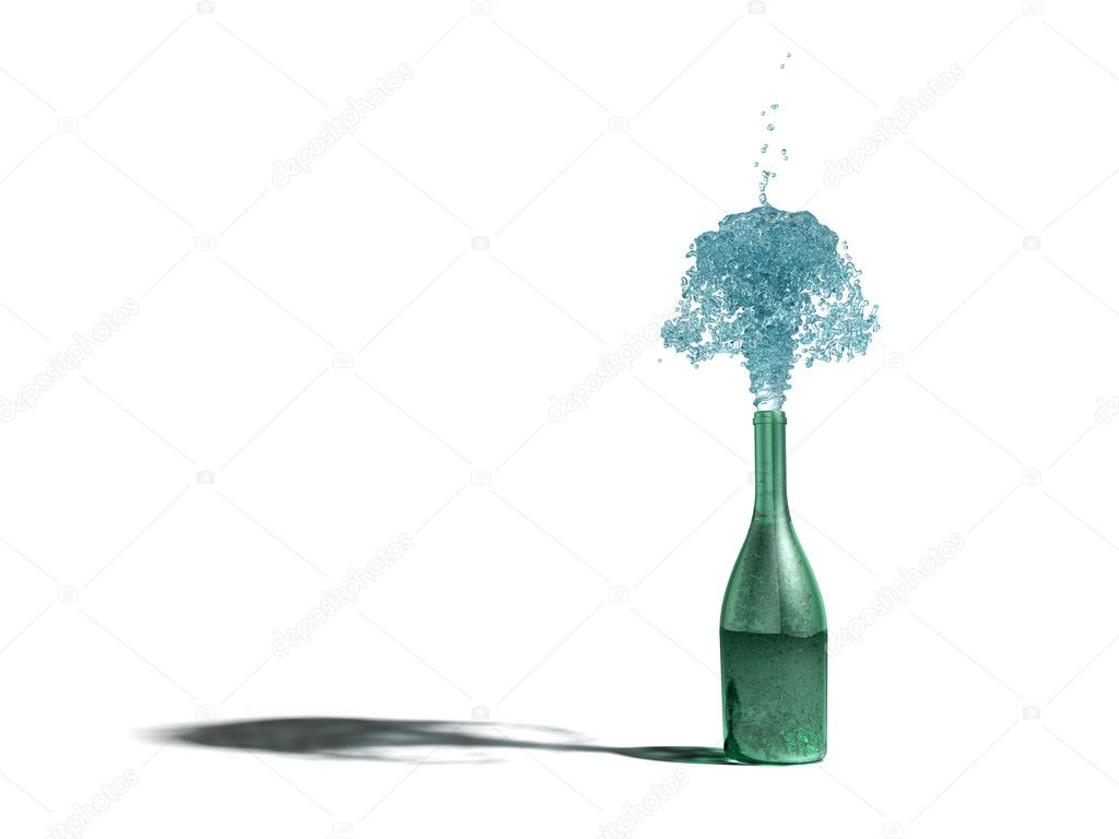 Bottle — Stock Photo #4362332