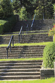 Rose Garden Stairs — Stock Photo