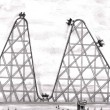 Better Worse Roller Coaster - Foto de Stock  