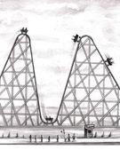 Better Worse Roller Coaster — Stock Photo