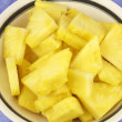 Chunks of Pineapple — Stock Photo