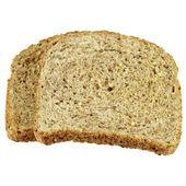 Dry Toast Isolated — Stock Photo