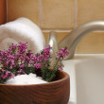 Bath Flowers — Stock Photo #5090130