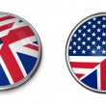 Banner Button United States, United Kingdom — Stock Photo #3962138