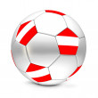 Royalty-Free Stock Photo: Soccer Ball/Football Austria