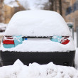 Car Covered by Snow — Stock Photo