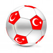Royalty-Free Stock Photo: Soccer Ball/Football Turkey