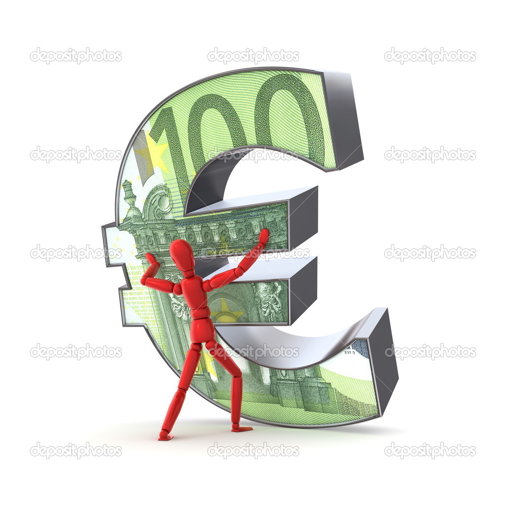 halten die euro 100 euro schein stockfoto pixbox 4016763. Black Bedroom Furniture Sets. Home Design Ideas