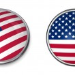 Banner Button United States — Stock Photo #4040188