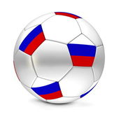 Soccer Ball/Football Russian Federation — Stock Photo