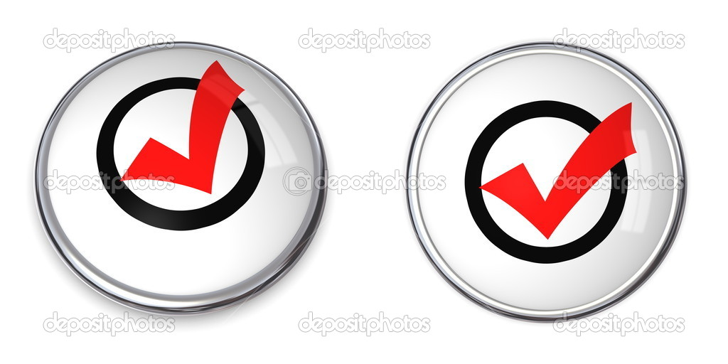 Chrome bordered button with a yellow smiley — Stock Photo #4080850