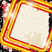 Grunge retro bakgrunden — Stockvektor