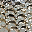 Stock Photo: Cog-wheel gears closeup