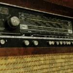 Grunge old radio panel — Stock Photo #4073067