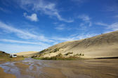 Dune Boarding — Stock Photo