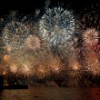 Australia Day Fireworks - Stock Photo